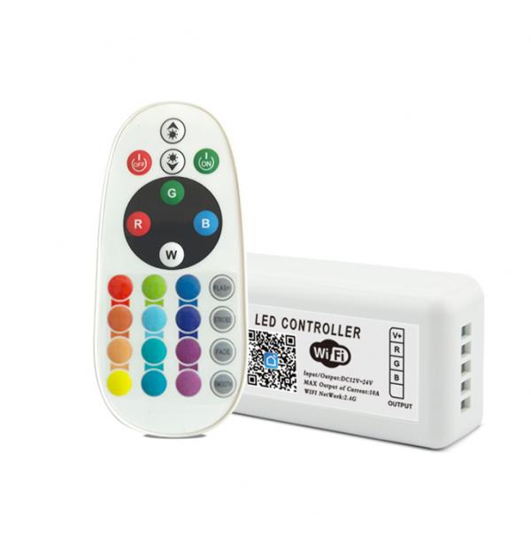 tuya wifi rgb controller with rf remote